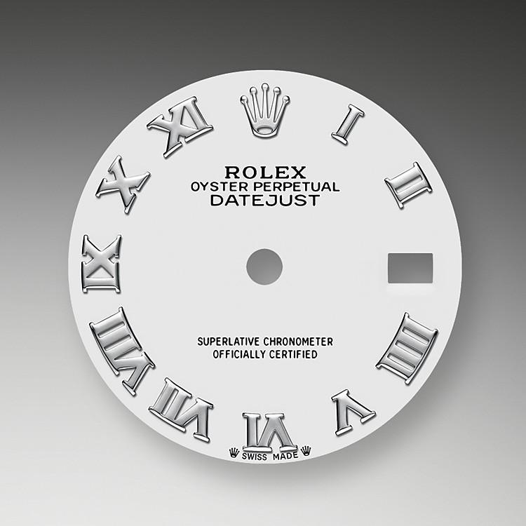 La esfera es el rostro distintivo de un reloj Rolex, el mayor responsable de su identidad y legibilidad. Caracterizada por sus índices de oro de 18quilates que evitan la pérdida de brillo, cada esfera Rolex está diseñada y manufacturada en nuestros talleres, principalmente a mano, para garantizar su perfección.