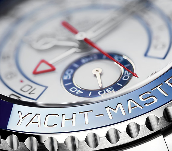 Lünette der Rolex Yacht-Master